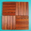 Okan solid wood decking tiles
