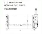 auto Radiator for FIAT DUNTO 46827081