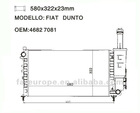 auto Radiator for FIAT DUNTO 46827081