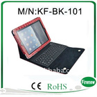 Folding Leather Protective Case With Bluetooth Keyboard For MO TO MZ606