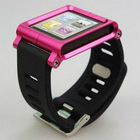 Aluminum bracelet watch band Wrist band Cover Case for iPod nano 6 6th Gen