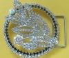 Fashion rhinestone belt buckle for girls