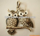 owl metal home decor