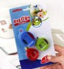 3 pcs one set convenient plastic food bag clip