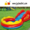 PVC beach inflatable water slide