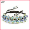 Free shipping New design with crystal MT120702084 elastic bracelet