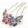 wedding hair jewelry, wedding hair clip, wedding crystal hair clip