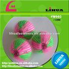 handmade nylon velcro laundry ball
