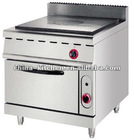 Gas French Hot Plate Cooker With Oven