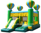Hot air balloon inflatable castle combo for party