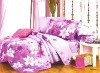 Reactive printed cotton bedding fabric