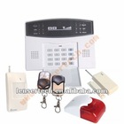 GSM Home Alarm System with 2-way communication