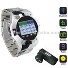 1.3 inch TFT touch screen Quad bands watch mobile phone MQ888,Bluetooth,MP3/MP4/ FM