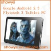 "pc tablet Flytouch 3 Google Android 2.3 Real Superpad NEW 10"" 4GB/8GB/16GB Infotmic ARM11 1Ghz CPU"
