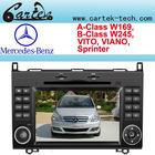 Car DVD Player For A-Class W169/B-Class W245/Vito/Viano/Sprinter/CRAFTER