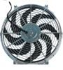 Auto fan radiator