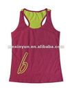 2012 100% cotton wholesale tank top for women