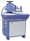 Leather hydraulic pressure die cutting machine