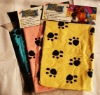 Dog Foot Printed Absorbent Towel Dog Cleaning Towel