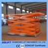 hydraulic cargo scissor lift with 2500kgs
