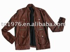 fashion mens slim leather jackets