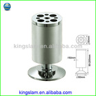 hot selling round adjustable aluminum sofa legs table legs any height