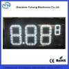 "12"" 8.889 White led gas price display"
