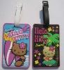 promotion pvc handbag tag