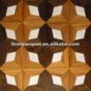 wood marble inlay flooring parquet flooring LIREN-M009