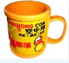 Advertising Plastic Cup 3D Mug,welcome customer design
