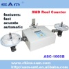 Motorized component counter for SMD components