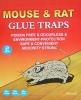 mouse glue straps pad
