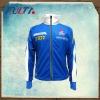Mens blue sublimation softshell jacket