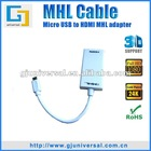 MHL Micro USB/HDMI Adapter Cable for HTC Flyer MHL to HDMI Cable