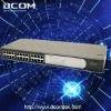 3COM 24-port Unmanaged 10/100Mbps Fast Ethernet Rackmount Network Switch(24 10/100Mbps RJ45 ports,3C16471B)