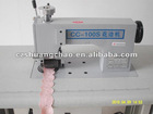 Ultrasonic lace sewing machine with sealing edge