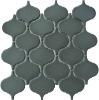 Matt Grey Big Lantern Ceramic Mosaic Design CZM308A