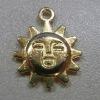 sun shape zipper puller