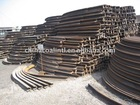 U steel beam arch structures for tunnel shoring