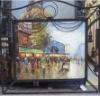 Iron oil painting