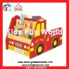 2012 latest children truck bookshelf fire truck toy cabinet