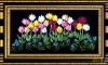 tape cross stitch sets -flowers2