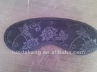 Black Embossing Tourmaline Magnetic Eye Mask