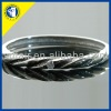 stainless steel bangle and bracelet