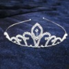 Bridal jewelry diamond tiara wedding crown