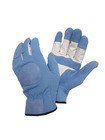 "10"" AB pig skin garden safety leather gloves"