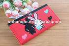 Leather,PU,cloth cartoon wallet for ladies