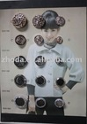 Resin button maker