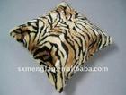 animal printed fleece couch cushions