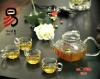 blooming tea heat resistant pyrex transparent thick glass teapots